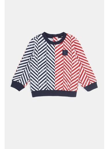 BG Baby Erkek Bebek Desenli S-Shirt 20Fw0Bg1431 Renkli